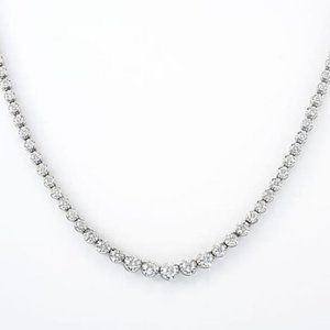 White Gold 14K Fine Jewelry Round Cut 6.00 Carats